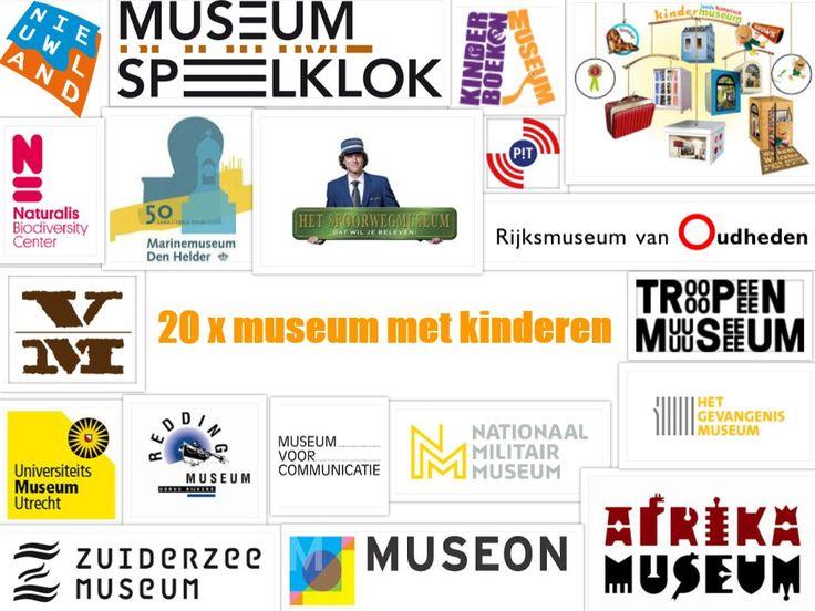Veel musea zijn leuk met kinderen, daarom nu op een rij: 20x museum met kinderen. Veelbelovend én leuk voor de kerstvakantie. Wat is jouw favoriete museum?