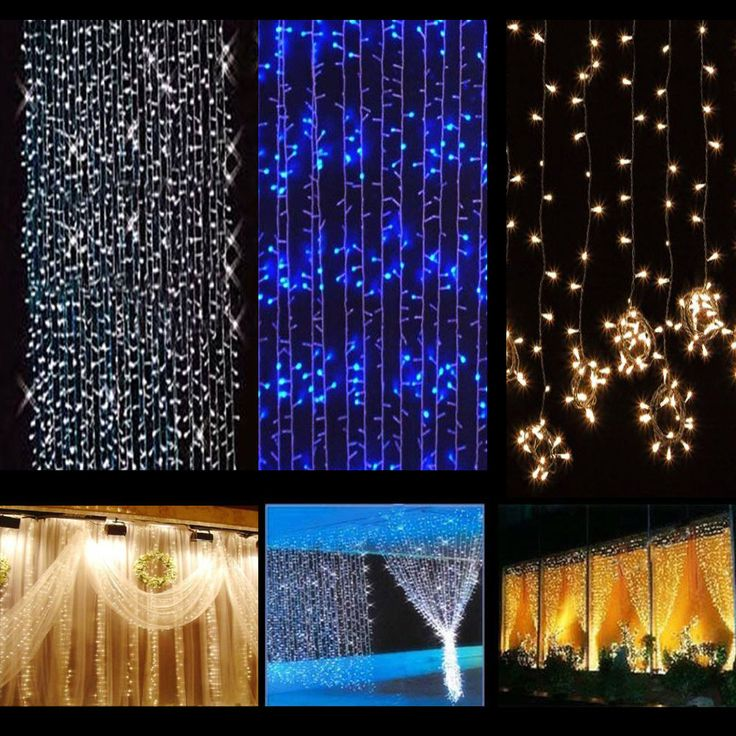 Can You Cut Outdoor String Lights: 1000+ Ideas About Curtain Lights On Pinterest
