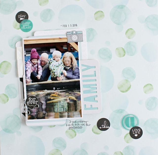 Colours of B: layout 12x12 FAMILY