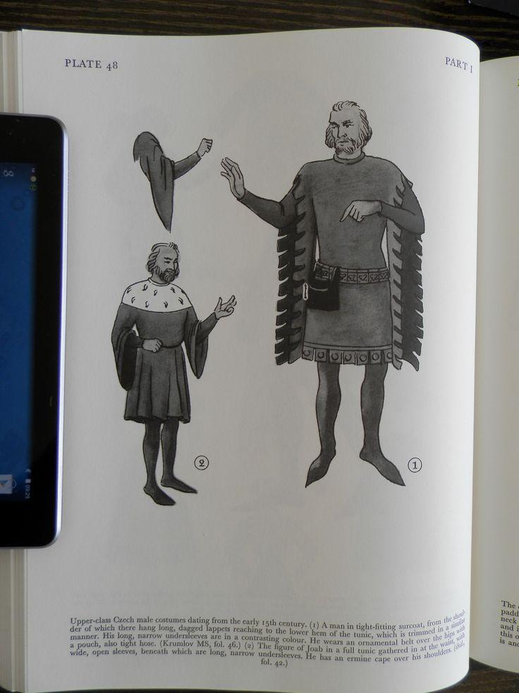 Upper-cIass Czech male costumes.