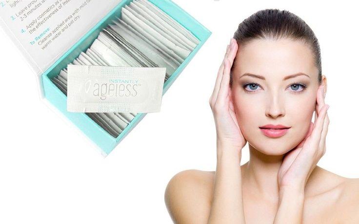 50 Sachets Jeunesse Instantly Ageless Anti-Aging Anti Wrinkle Eye Cream