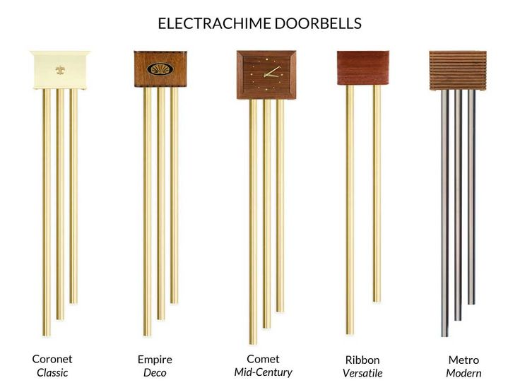 There S An Electrachime Doorbell For Every Decor From