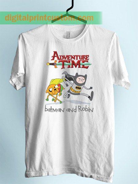 Adventure Time Jake Finn Batman Style Unisex Adult T Shirt