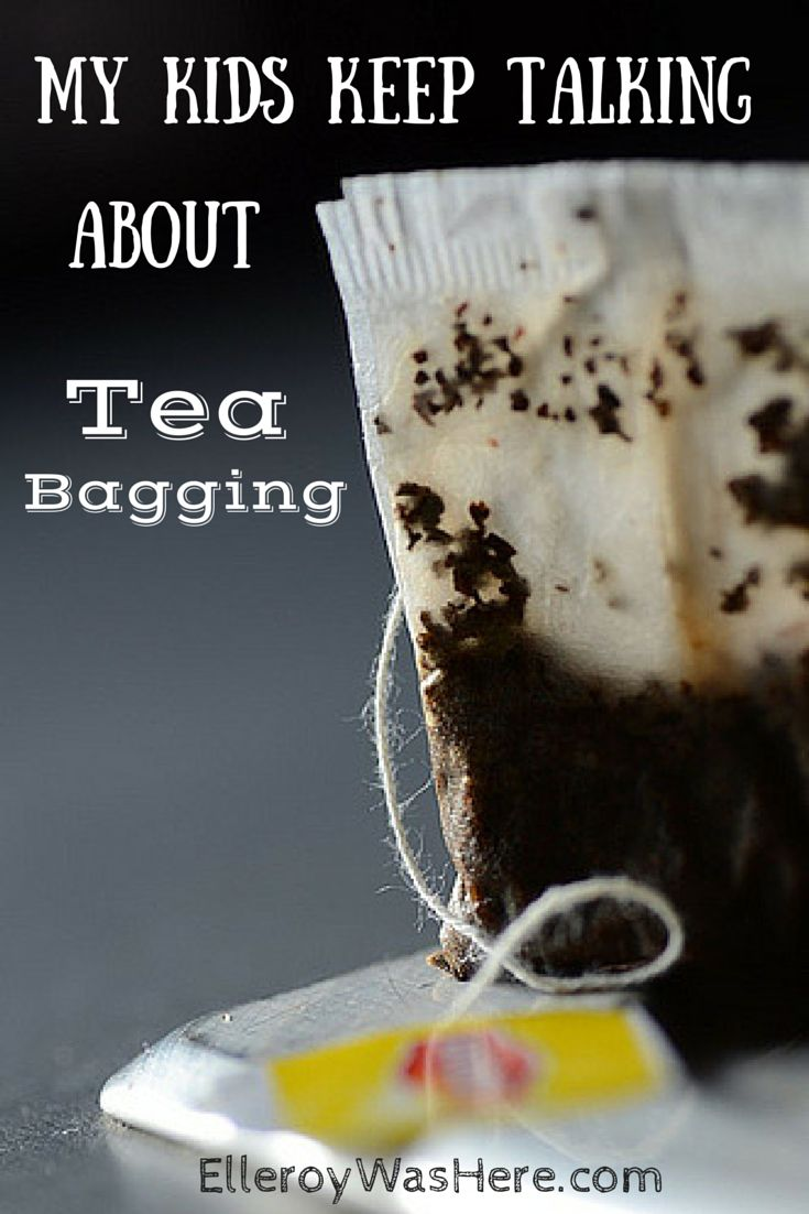 """""""My kids keep talking about tea bagging"""" by elleroy was here Absolutely hilarious! parenting 