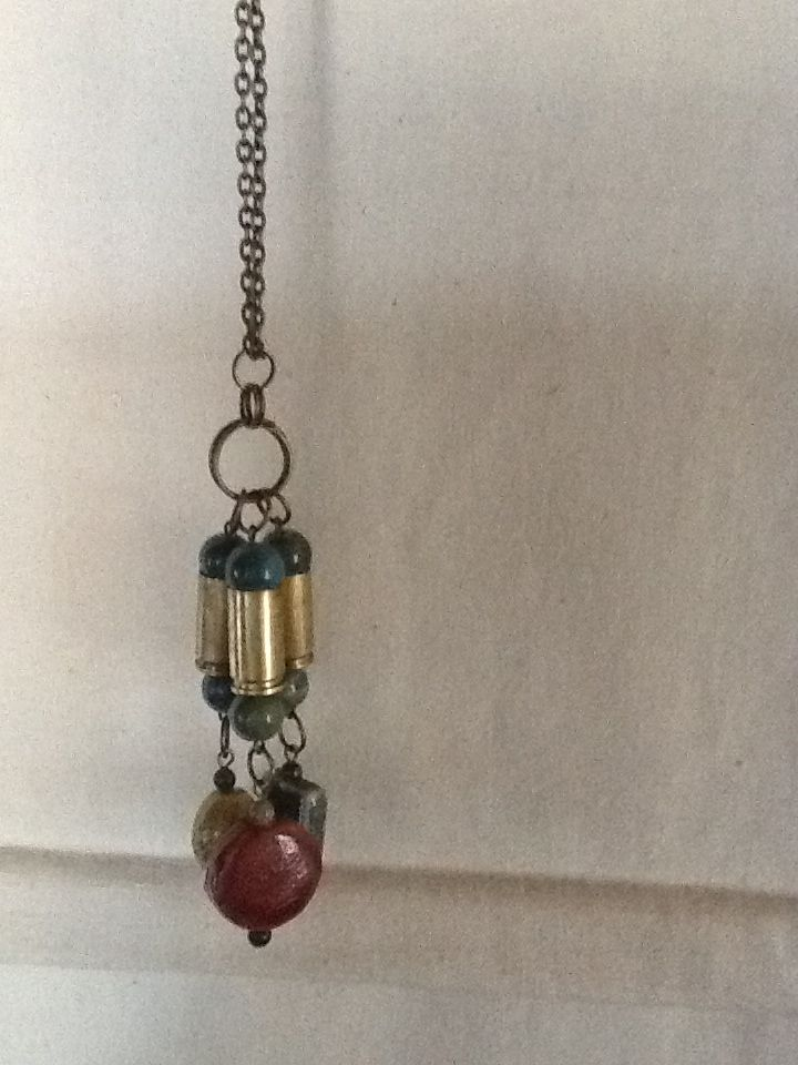 Using found shell casings for jewelry now.