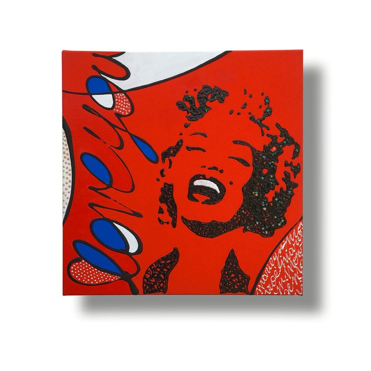 She's Passion. Tribute to Marilyn Monroe 30X30 🌹