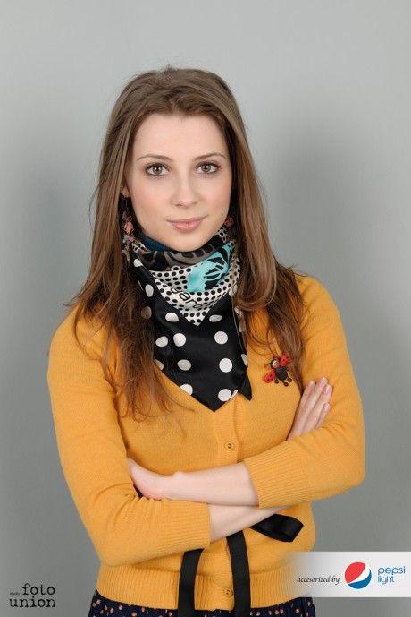 Portret de Femeie. O campanie publica de fotografie realizata de Foto Union Studio si Pepsi Romania, cu sprijinul Nikon