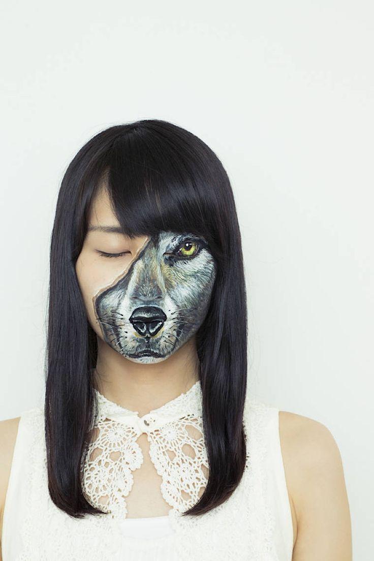 Hiraku Cho spielt mit ihren Bodypaintings mit der menschlichen Anatomie - KlonBlog » KlonBlog