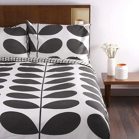 Buy Orla Kiely Giant Stem Flannelette Bedding | John Lewis