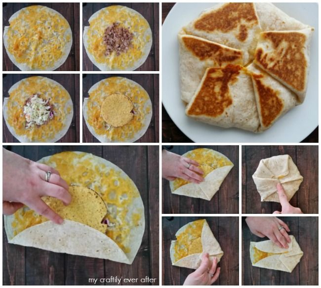 Image Result For How To Fold A Crunchwrap Crunch Wrap Crunch Wrap Supreme Food