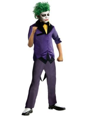 Boys Joker Costume - The Dark Knight