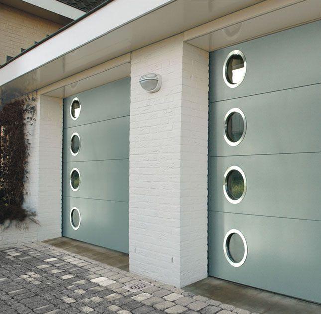 Garage Door Stainless Steel Porthole Windows