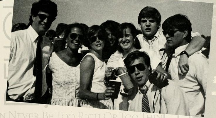 Foxfield Races, Charlottesville, 1988...Ohhhh Foxfield you glorious shitshow, you.