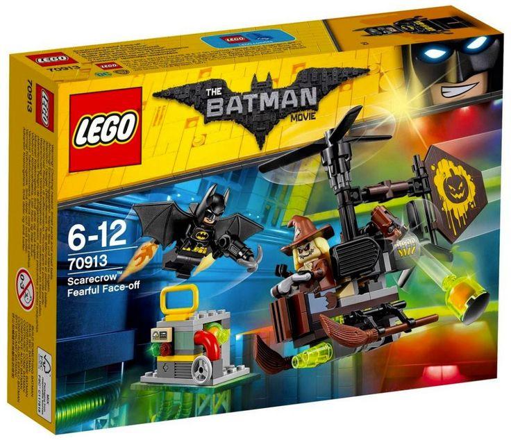 LEGO The Batman Movie 70913 : Scarecrow Fearful Face-Off - Juin 2017