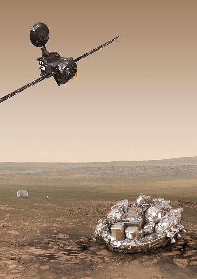 ExoMars: Europa und Russland suchen Spuren von Leben auf dem Mars . . . http://www.grenzwissenschaft-aktuell.de/exomars-suchen-spuren-leben-auf-mars20160313 … Abb.: ESA/ATG medialab