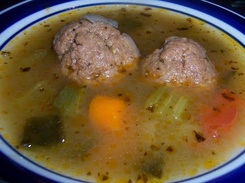 Mexican Albondigas (Mexican Meatballs). Chipotle Mexican Albondigas - YouTube