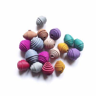 Giulia Boccafogli JEWELRY DESIGNER: Leather Pearls!