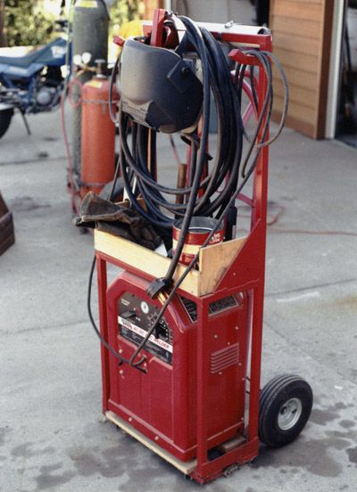 Welder Tool Cart Lincoln Quot Tombstone Quot Arc Welders Amp Carts