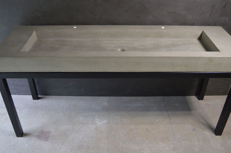 Concrete Trough Sink : sink trough sink gallery handmade concrete sink designs concrete sinks ...