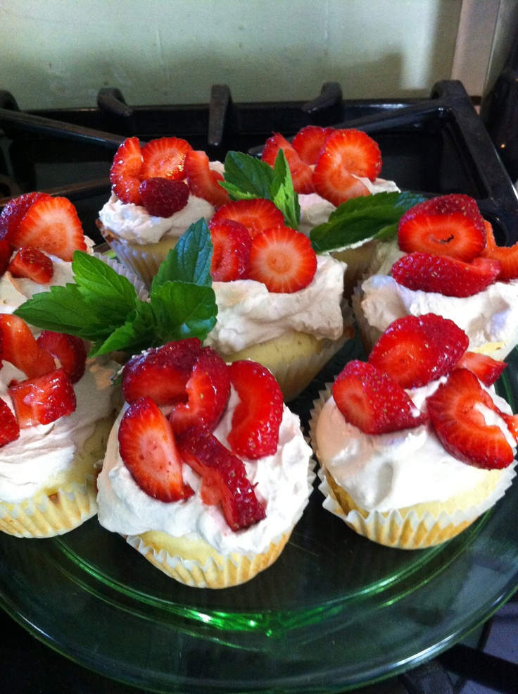 Sorghum Cupcakes With Orange Whiskey Whipped Cream - Wild West ...