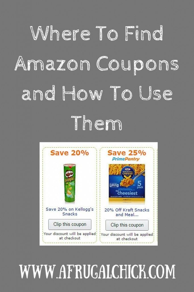 Where To Find Amazon Coupons Online