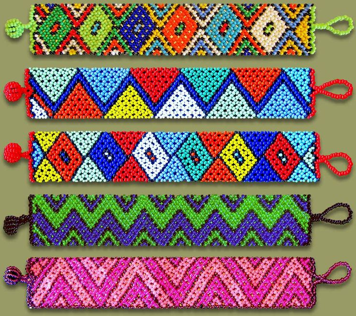 African Beaded Bracelets Beaded Bracelets Mixed