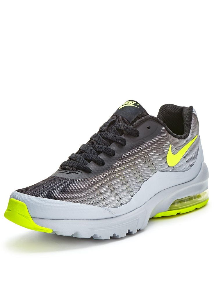 Air Max Invigor Print Shoes Women GreyBlackFluorescence Green New Year Deals TpZYk