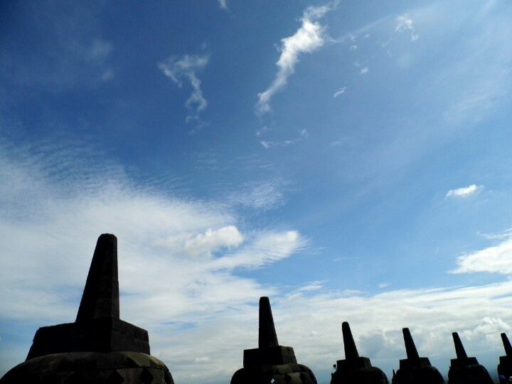 The Stupa, Borobudur....