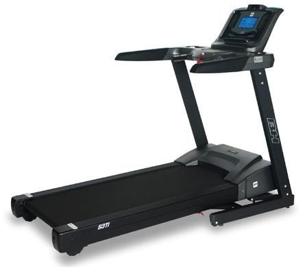 BH Fitness S3Ti Folding Treadmill ON SALE at Fitness Exchange www.FitnessExchange.com - iConcept enabled, ActiveFlex Suspension, top-of-the-line Treadmill.