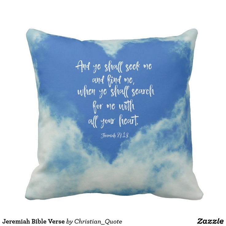 Throw Pillows With Bible Verses : 364 best Pillows with Quotes and Sayings images on Pinterest Cushions, Decor pillows and ...