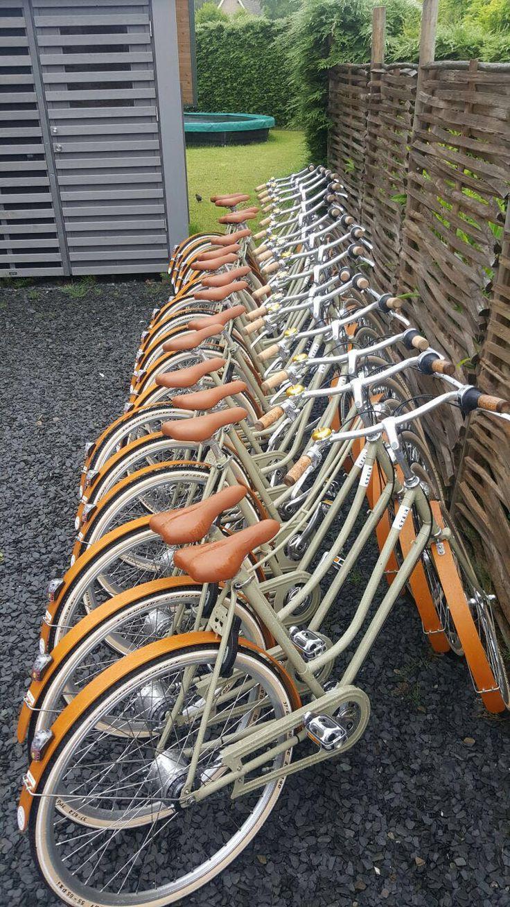 Alle Bikes op een rij
