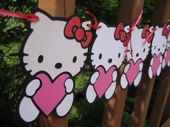 Ideas e imprimibles gratis de la Hello Kitty para fiestas infantiles