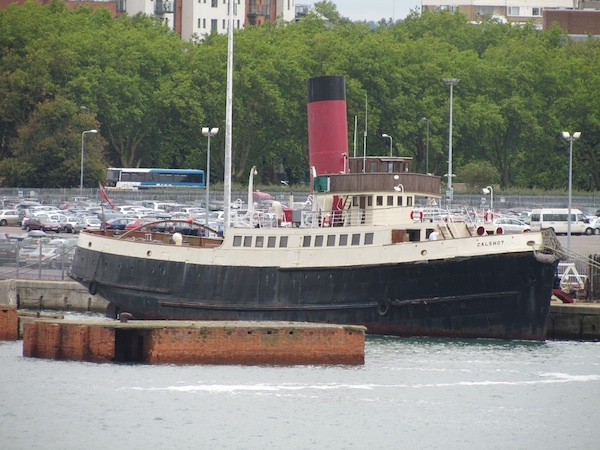 Old Ferry in Southampton Harbour