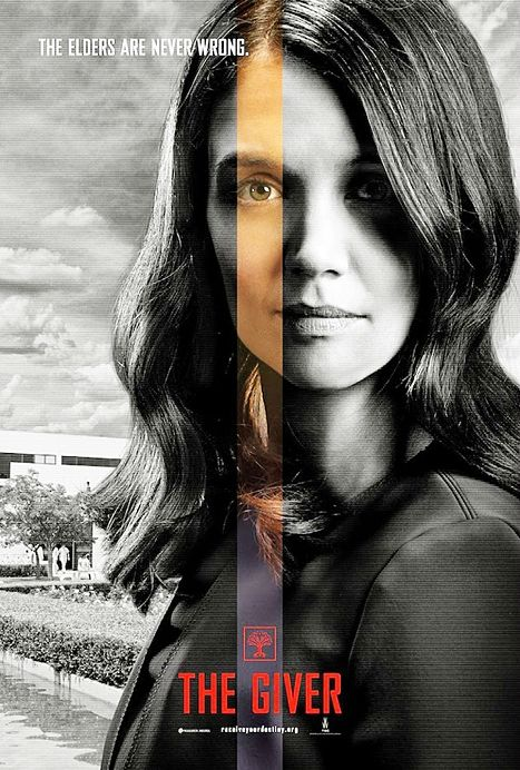 The Giver movie Katie Holmes