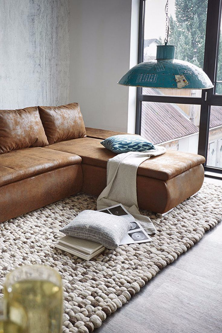 09df4a5345b8be0311dffbd9d41ecece Sofa Industrial Leather Design