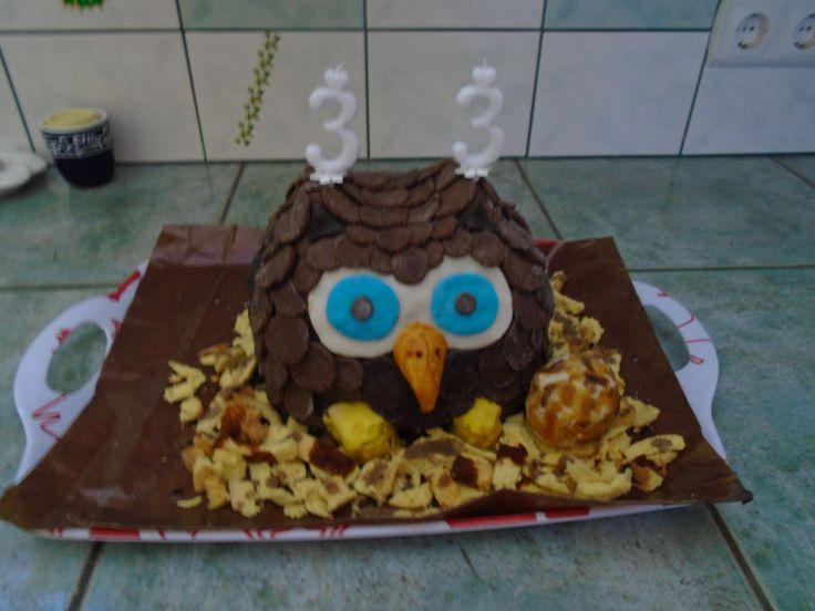 Bagoly torta idősebb bátyusomnak ^^