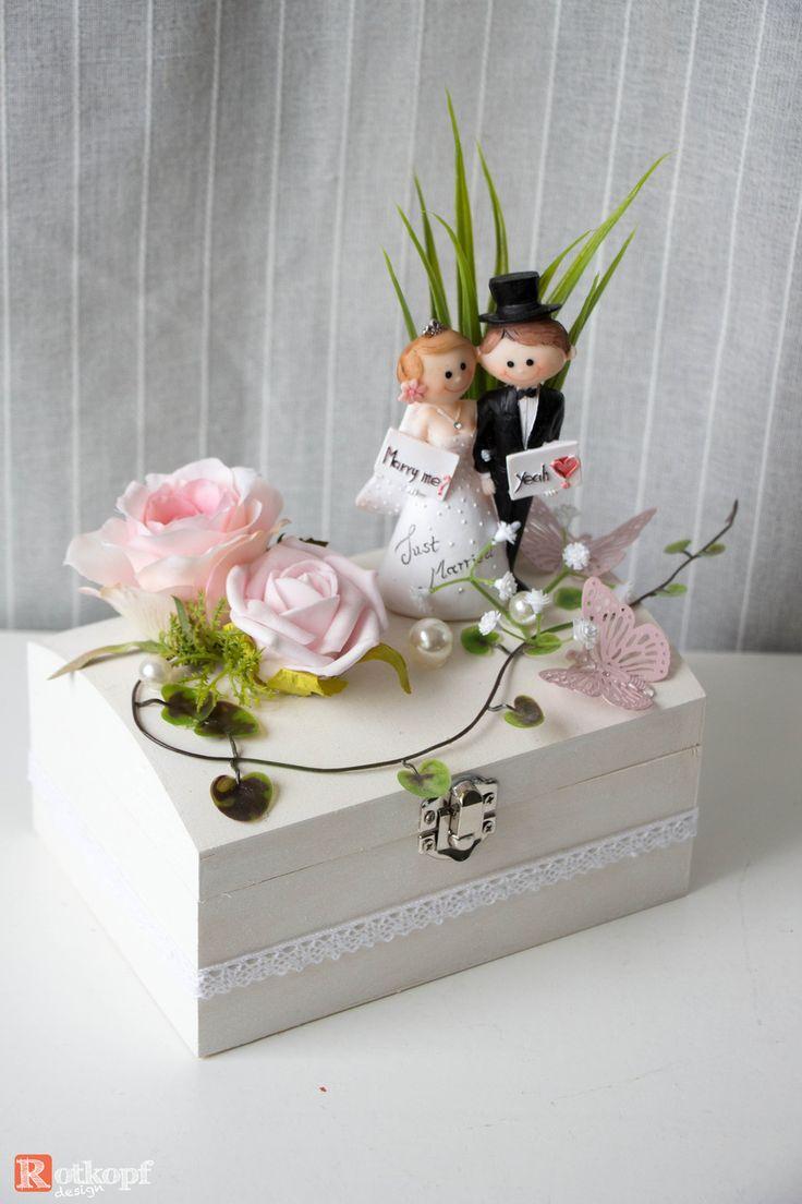 Geldgeschenke – Geldgeschenk Hochzeit  – ein Designerstück von Rotkopf-design b…