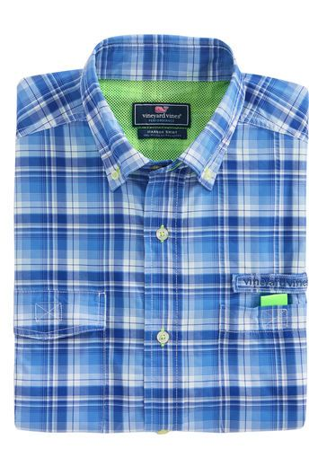 Rogia Plaid Harbor Shirt