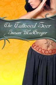 Susan MacGregor's second book in the Tattooed Witch trilogy, August, 2014.
