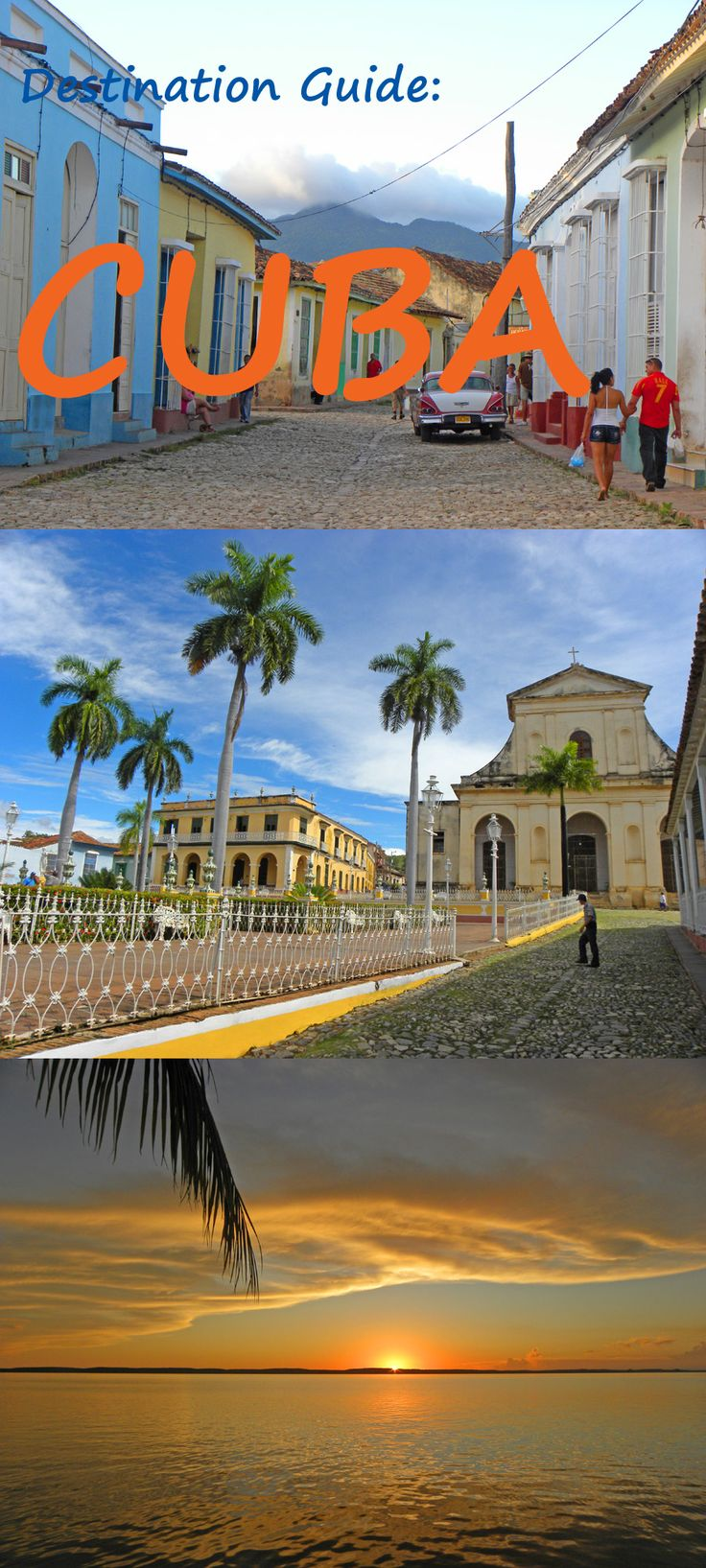 Destination Guide - Cuba. What you need to know and where to go: http://bbqboy.net/cuba-guide-and-travel-tips/ #cuba #destinationguide