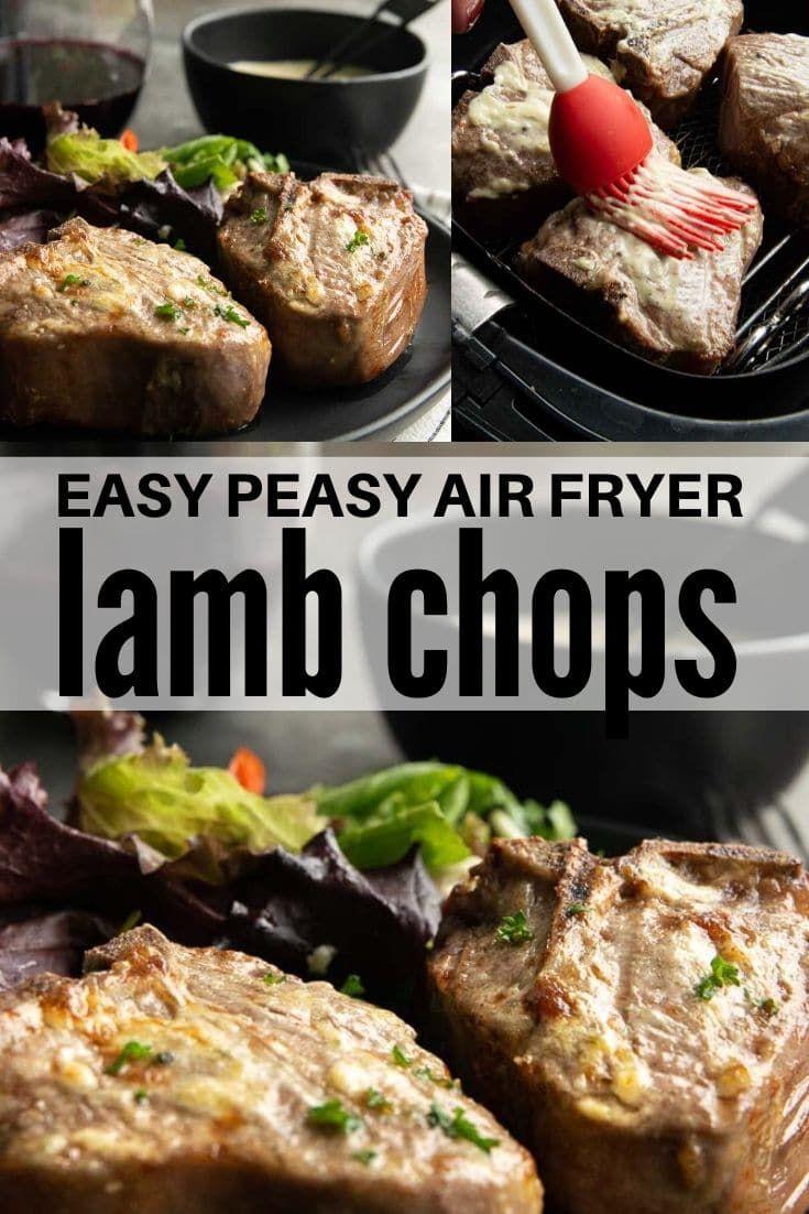 Air Fryer Lamb Chops Recipe Ninja Foodi Grill Recipes Sweet Savant Recipe Lamb Chop Recipes Grilled Lamb Chop Recipes Lamb Chops