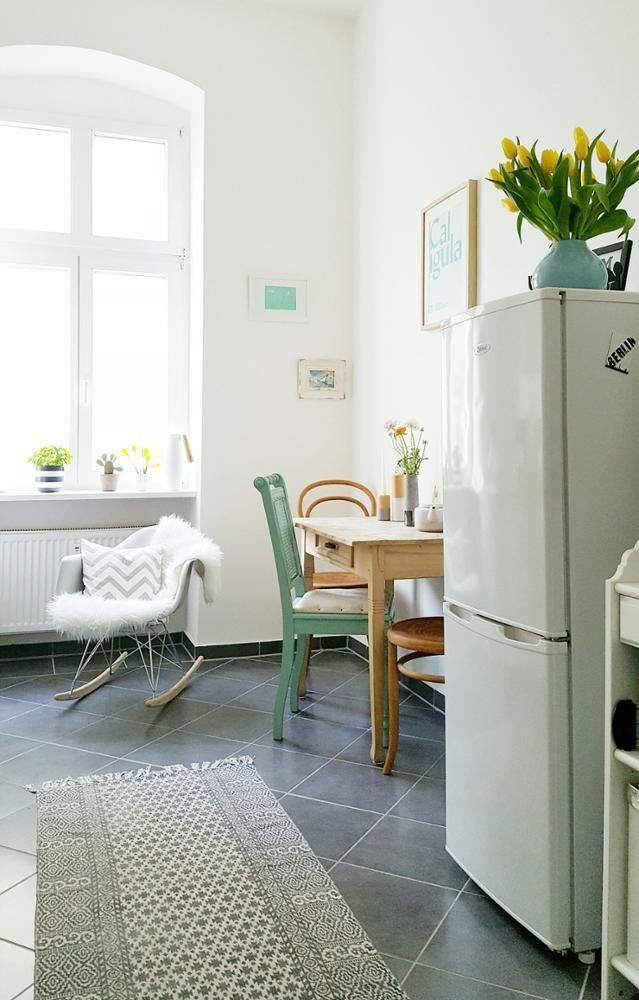 290 best Küche images on Pinterest - küche mit side by side kühlschrank