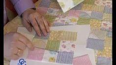 Retales o patchwork, como hacer una colcha, cojines o mantas, via YouTube.