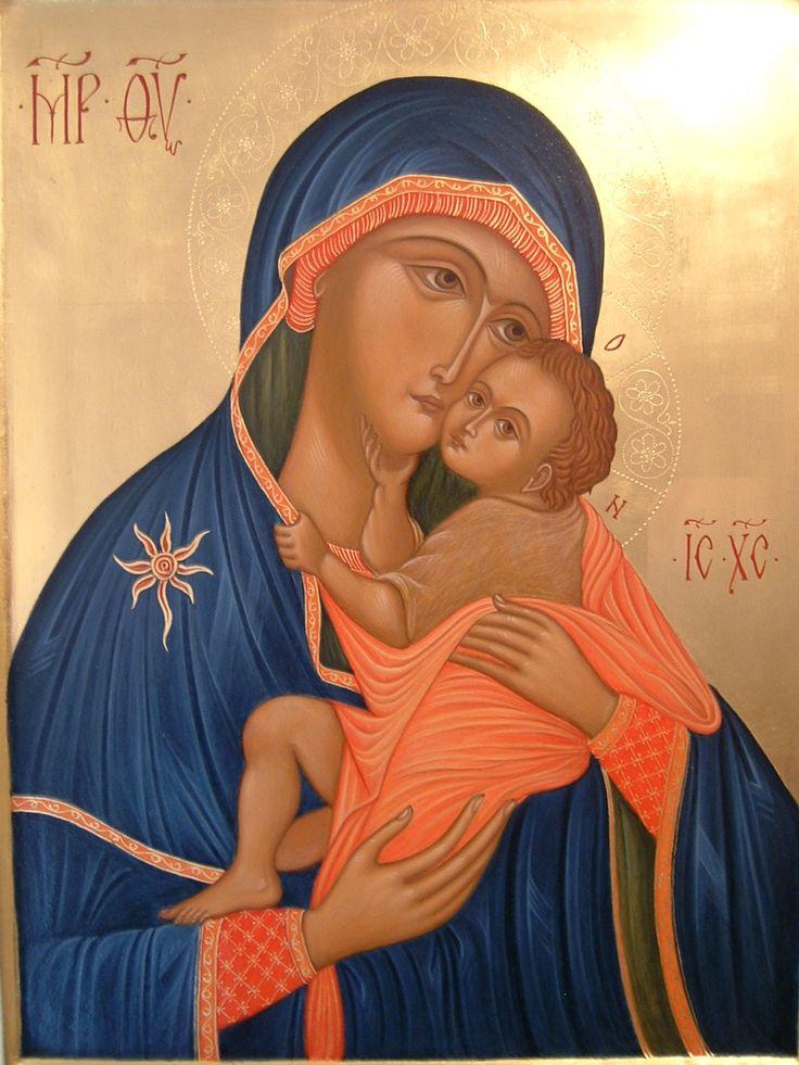 "Madre di Dio del Carmine detta ""La Bruna"" through the hand of Maria Teresa Battilana"