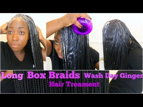 How To Wash Box Braids Without Creating Frizz HIGHLY REQUESTED! - YouTube