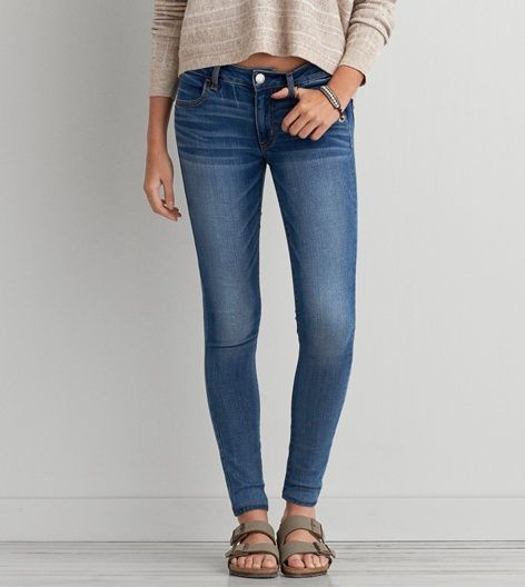 Bright Ultramarine Jegging - American Eagle Outfitters