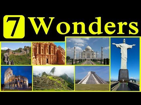 Seven Wonders Of The World Wonders Of The World Seven Wonders Story Of The World