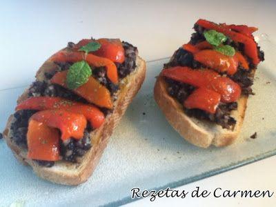 rezetas de carmen: Recopilatorio de recetas de canape y picoteo: