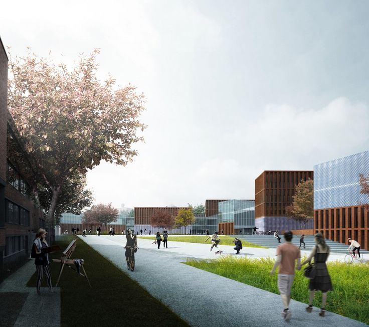 Gallery of verstas architects selected for new core of aalto university in finland 1