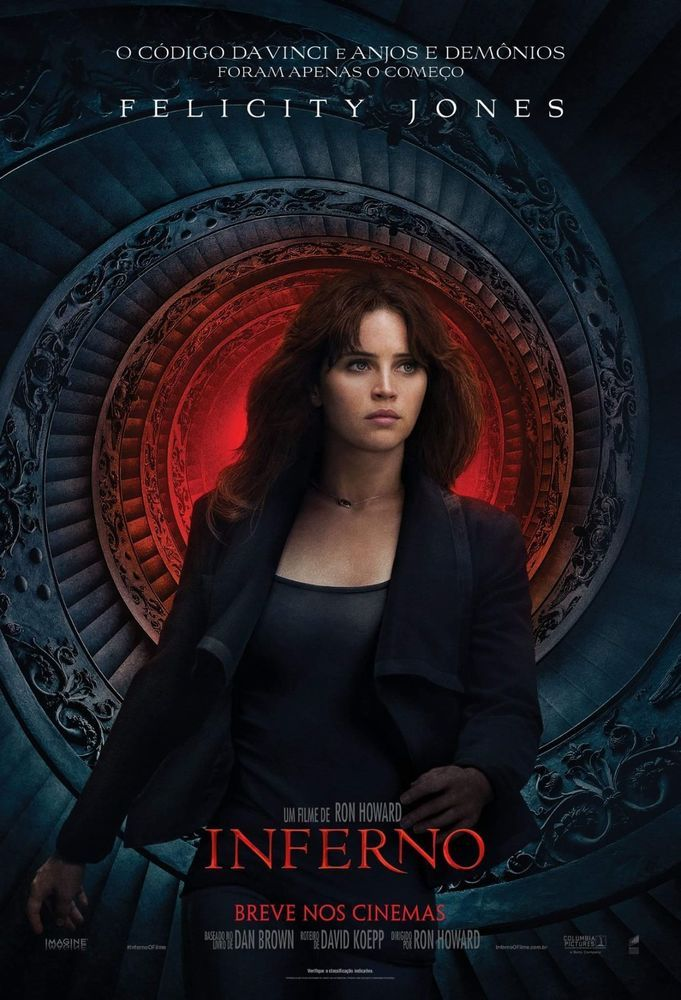 Inferno Hi-Res Movie Poster Felicity Jones